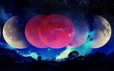 luna plina in balanta